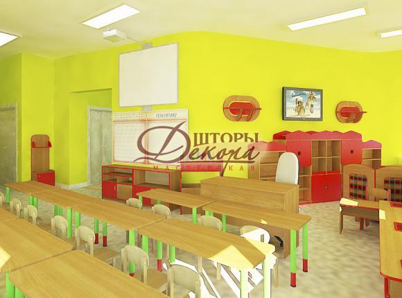 Детский сад г. Салехард. Учебный класс.