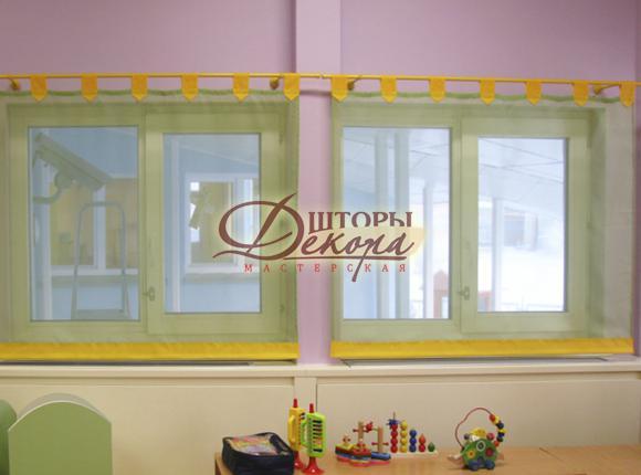 Детский сад г. Нягань. Спальная комната.