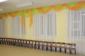 Детский сад № 202, переулок Суворовский, 21. Актовый зал.