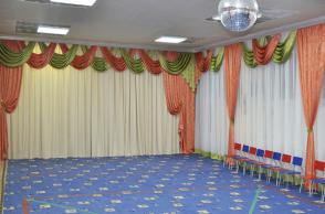 Детский сад №250, Патриотов, 10а. Актовый зал.