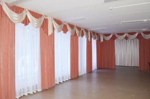Детский сад №497, Чайковского, 86а. Актовый зал.