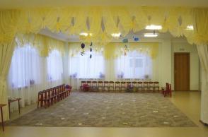 Детский сад №561, Чкалова, 117а. Актовый зал.