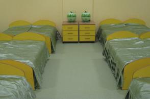 Детский сад г. Нягань. Покрывало в спальную.